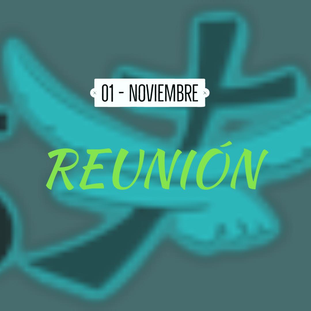 Reuniones - 01 Noviembre
