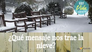 ¿Qué mensaje nos trae la nieve?